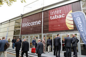 Welcome at InterTabac trade fair | Exhibition Dortmund, Copyright: Anja Cord
